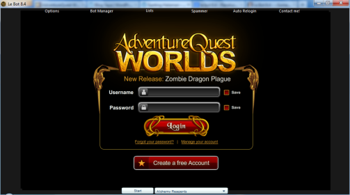 Download Le bot 8.4 Gratis (AQW Bot)